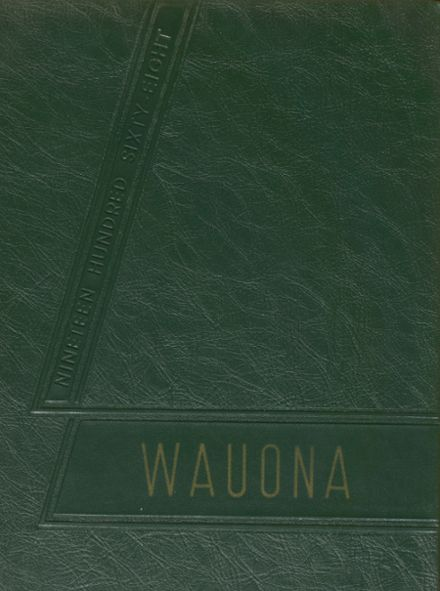 1968 Portage High School Yearbook Cover