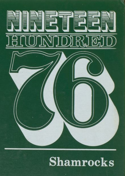 1976 New Haven High School Yearbook Cover
