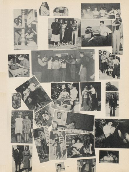 1950 Clinton High School Yearbook Cover