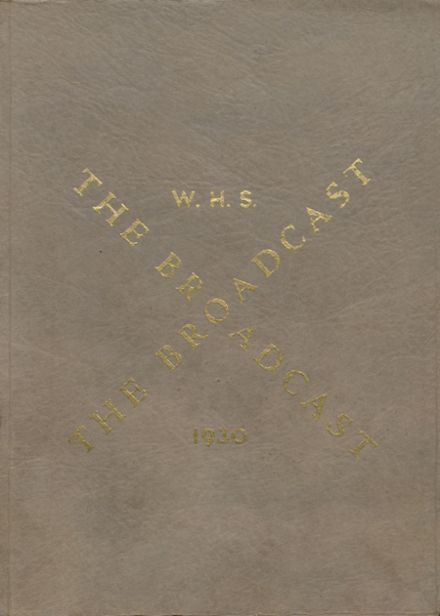 1930 Windsor High School Yearbook Cover