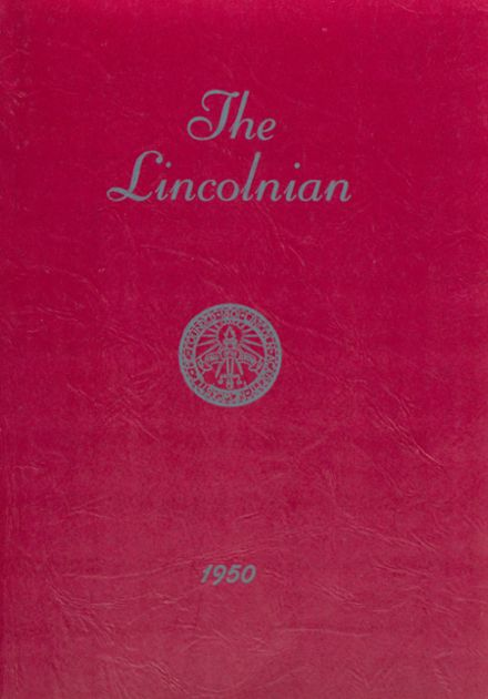 1950 Lincoln Academy Yearbook Cover