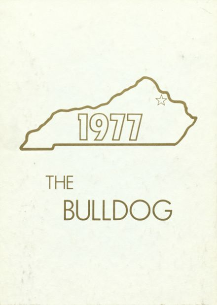 1977 Maysville High School Yearbook Cover