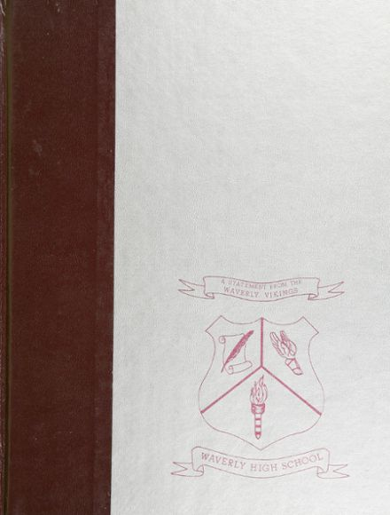 1981 Waverly High School Yearbook Cover