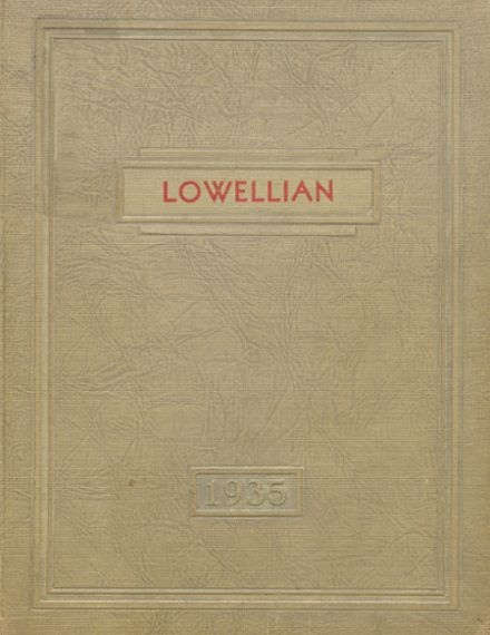 1935 Lowell High School Yearbook Cover