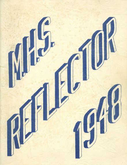 1948 Montague High School Yearbook Cover