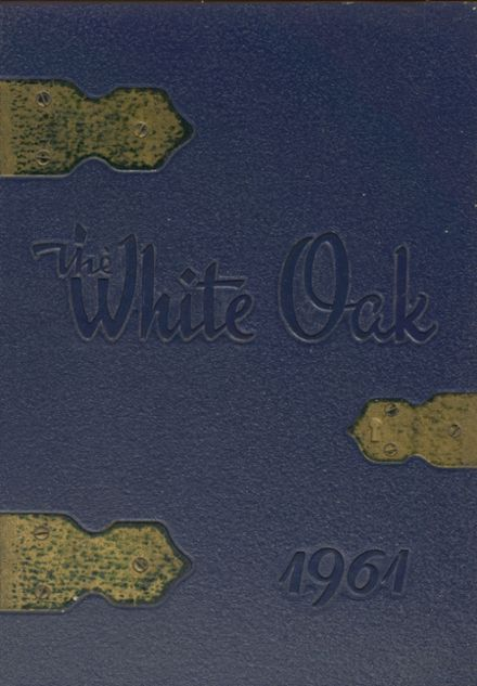 1961 Housatonic Valley Regional High School Yearbook Cover
