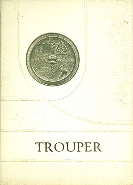 1970 Troup County Comprehensive High School Yearbook Cover