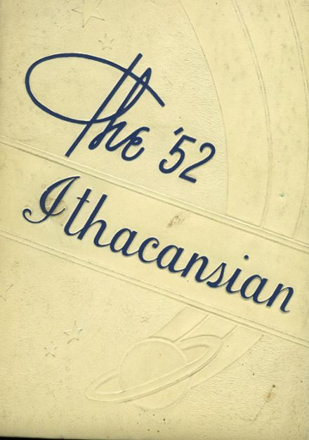 1952 Ithaca High School Yearbook Cover