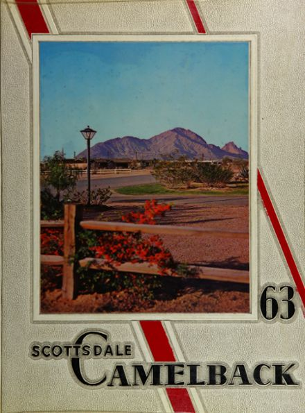 1963 Scottsdale High School Yearbook Cover