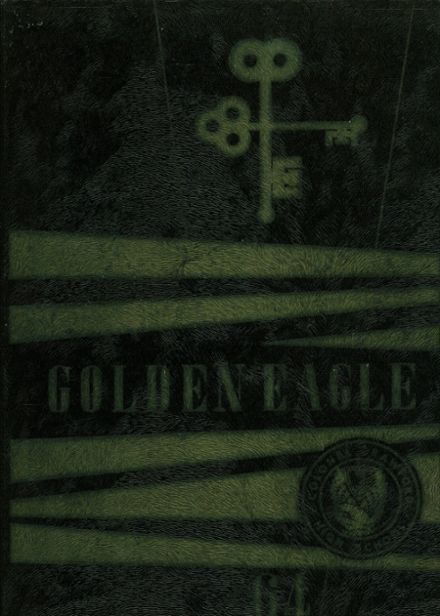 1964 Colonel Crawford High School Yearbook Cover