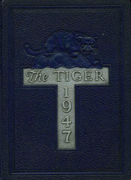 1947 South Norfolk High School Yearbook Cover