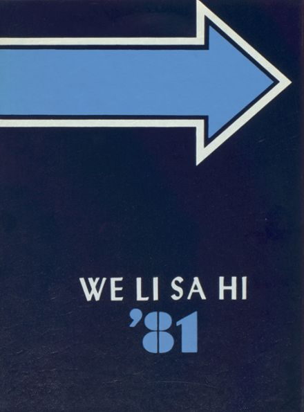 1981 West Liberty-Salem High School Yearbook Cover