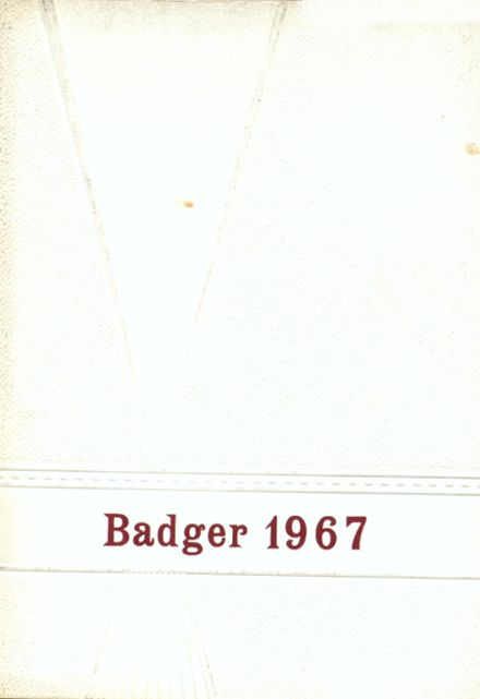 1967 Valentine High School Yearbook Cover
