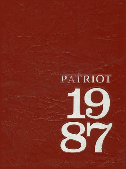 1987 Carroll High School Yearbook Cover
