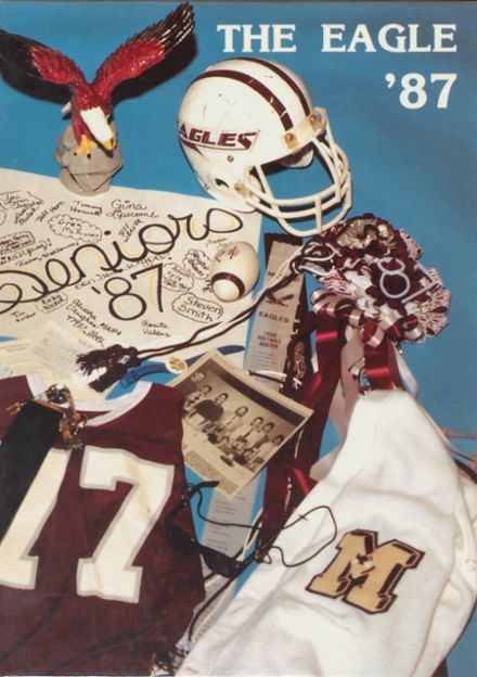 1987 Mildred High School Yearbook Cover