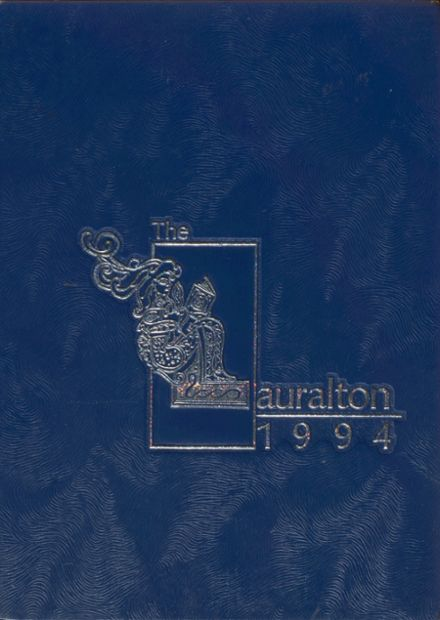 1994 Lauralton Hall/Academy of Our Lady of Mercy Yearbook Cover