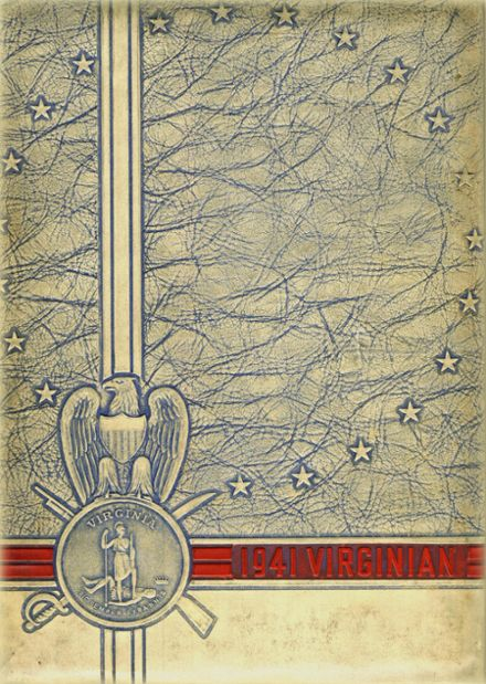 1941 Virginia High School Yearbook Cover