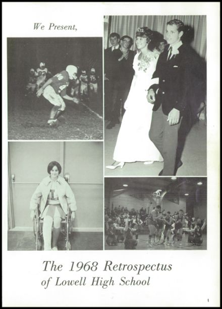 1968 Lowell High School Yearbook Page 5