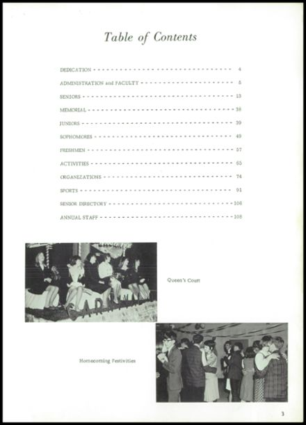 1968 Lowell High School Yearbook Page 7