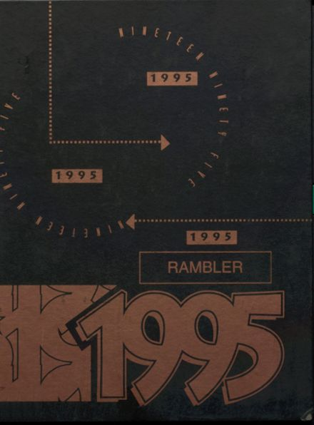 1995 Cascade High School Yearbook Cover
