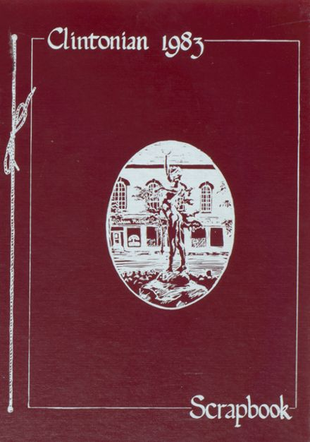 1983 Clinton Central High School Yearbook Cover