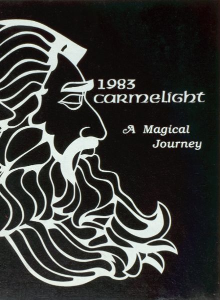 1983 Our Lady of Mt. Carmel High School Yearbook Cover