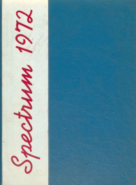 1972 Niles West High School Yearbook Cover