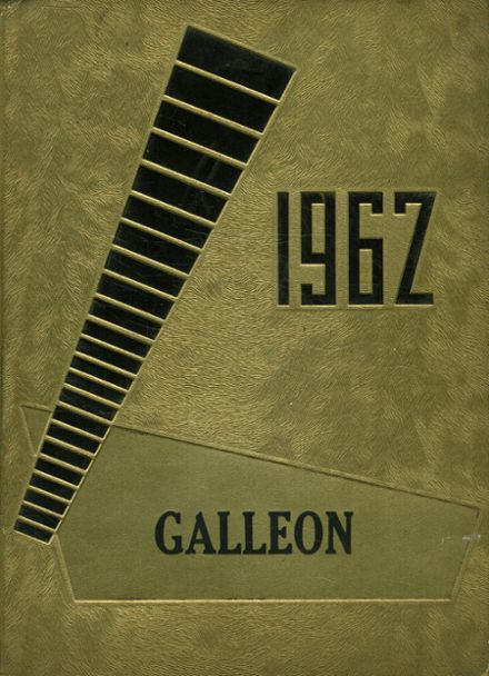 1962 Mathis High School Yearbook Cover