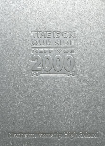 2000 Manheim Township High School Yearbook Cover