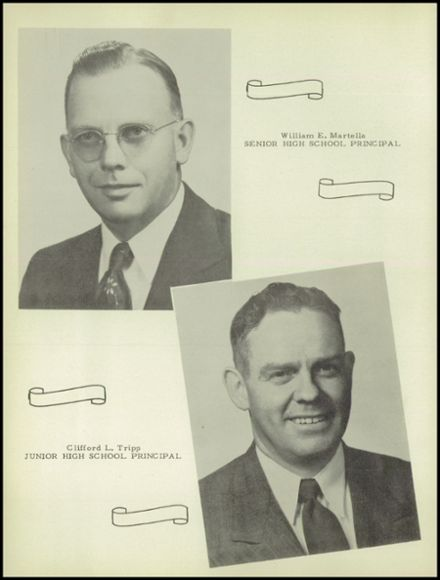 1951 Onsted High School Yearbook Page 8