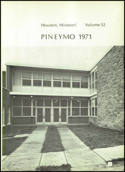 1971 Houston High School Yearbook Page 5