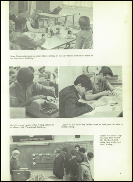 1971 Houston High School Yearbook Page 7
