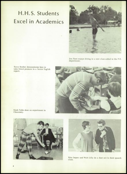 1971 Houston High School Yearbook Page 8