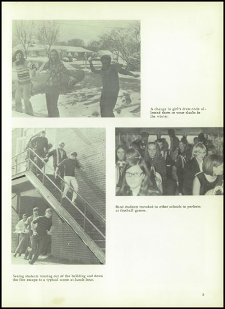1971 Houston High School Yearbook Page 9
