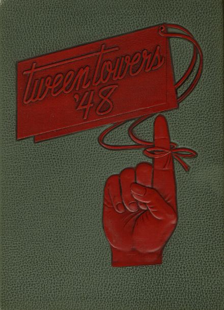 1948 Hillsdale High School Yearbook Cover