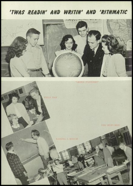 1948 Hillsdale High School Yearbook Page 8