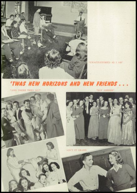 1948 Hillsdale High School Yearbook Page 9