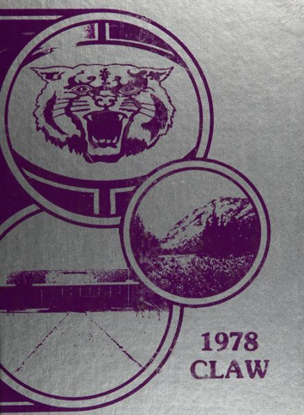 1978 Arvada West High School Yearbook Cover