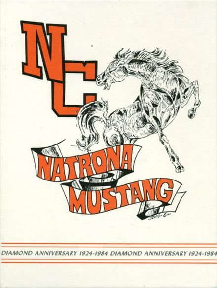 1984 Natrona County High School Yearbook Cover