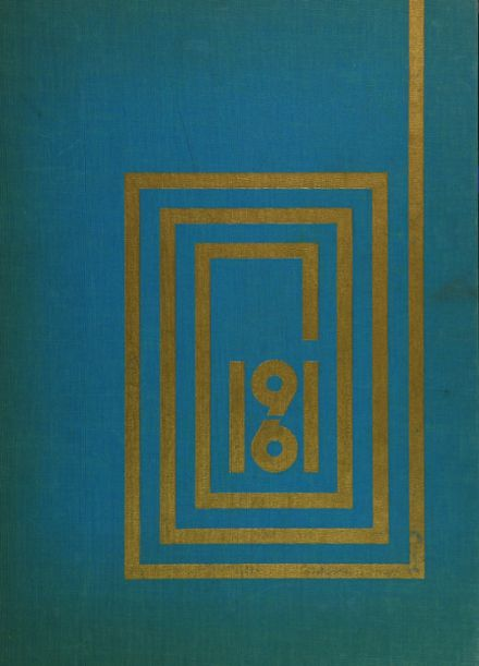 1961 Phillips Exeter Academy Yearbook Cover