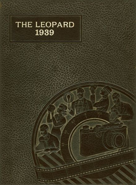 1939 Gainesville High School Yearbook Cover