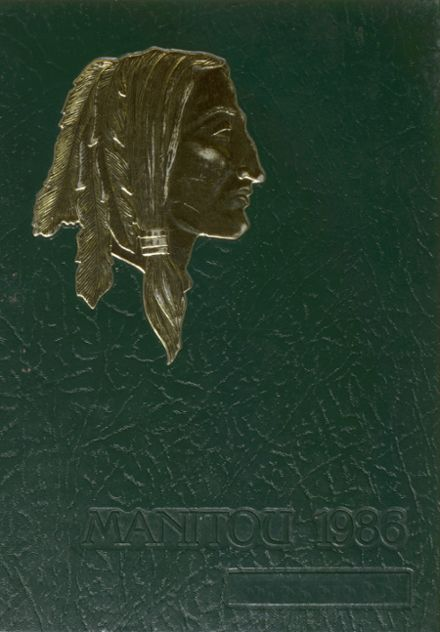 1986 Taconic High School Yearbook Cover
