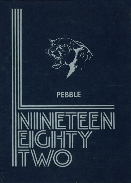 1982 Houghton Academy Yearbook Cover