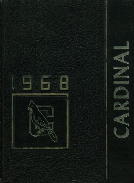 1968 Glendale High School Yearbook Cover