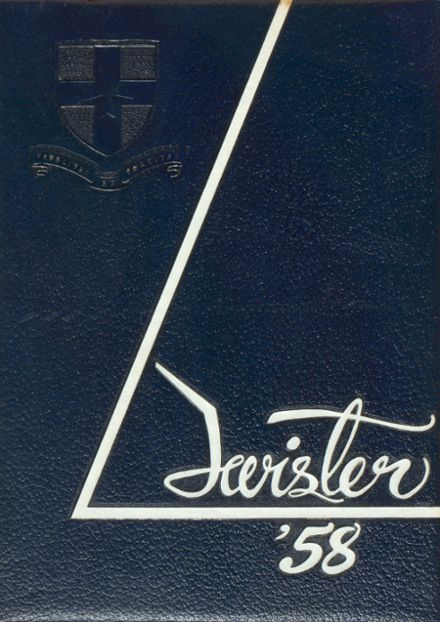 1958 Casady School Yearbook Cover