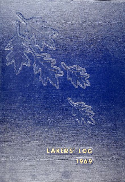 1969 Lake Oswego High School Yearbook Cover