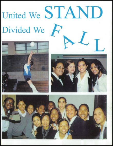 2001 Mother Cabrini High School Yearbook Page 5