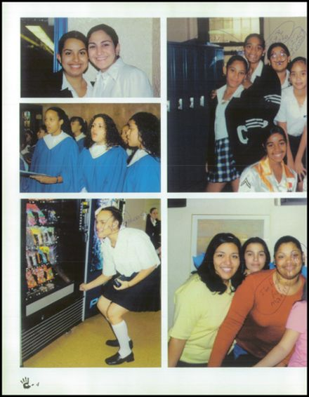 2001 Mother Cabrini High School Yearbook Page 8