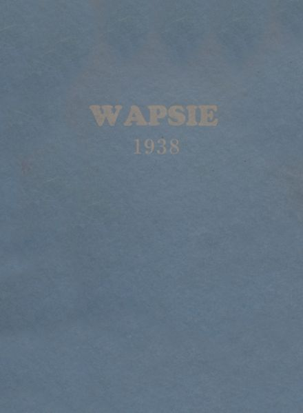 1938 Independence Christian High School Yearbook Cover