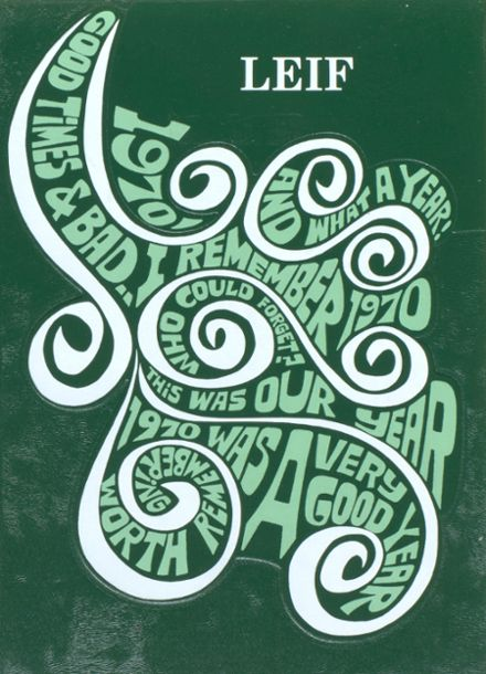 1970 Delwood High School Yearbook Cover